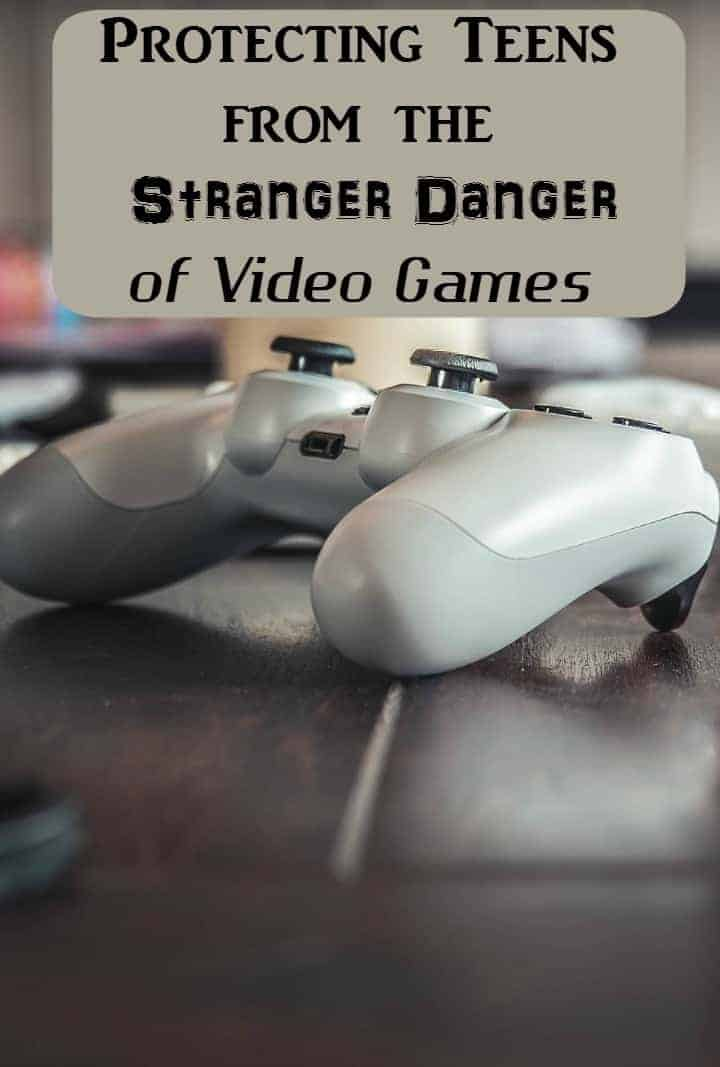 If your teen plays video games, this is a must-read post! Check out parenting tips to keep your teen safe from stranger dangers online and off!