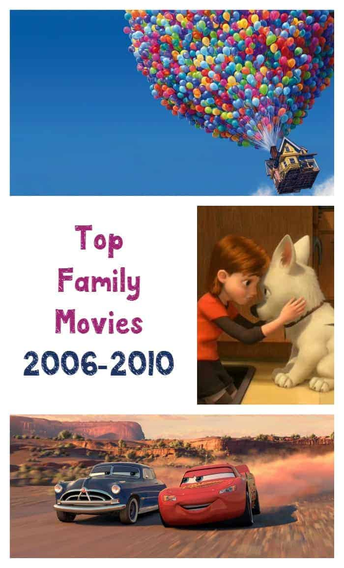 The best family movies from 2006-2010 brought us tons of awesome animated features and fantasy adventures. Check out our favorites!