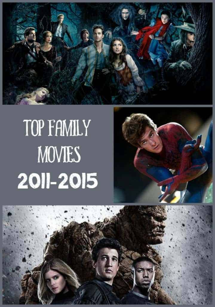 The best family movies from 2011-2015 took us to whole new levels of fantasy and adventure! Check out a few of our favorites!