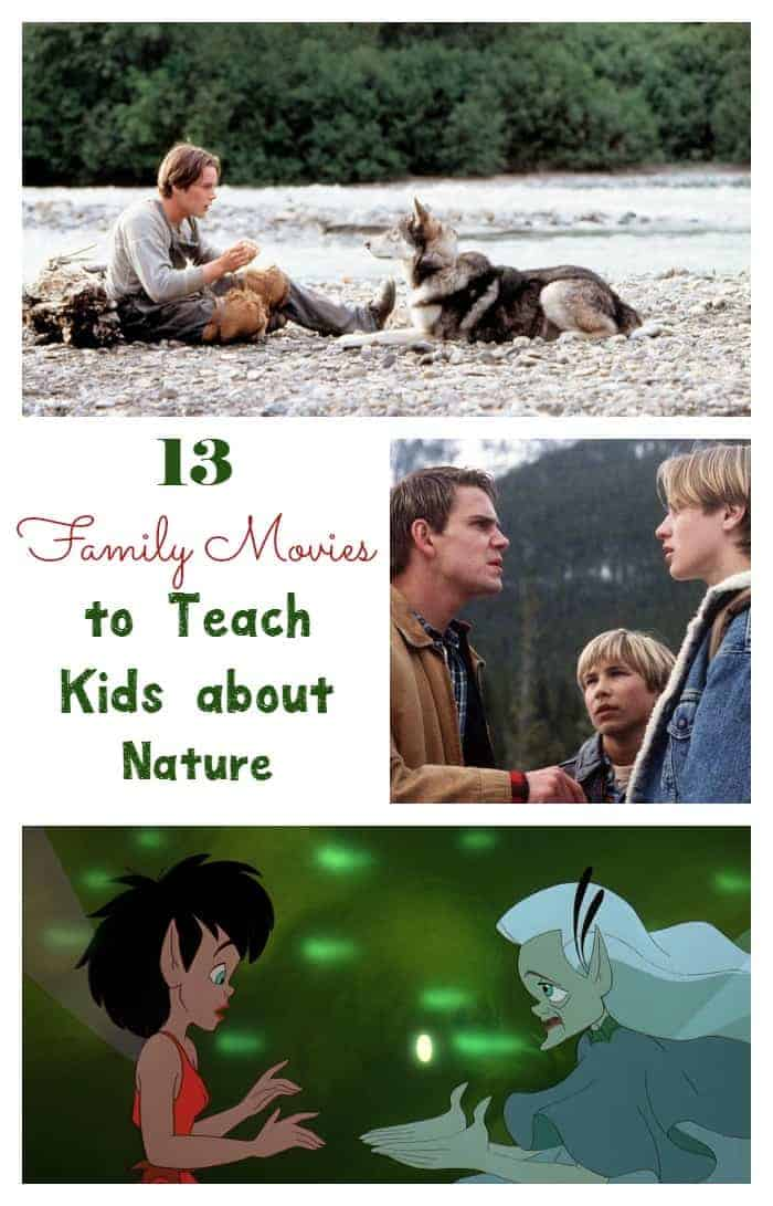 Use these good family movies about nature to teach your kids about different aspects of the environment and respecting the world around us. Check them out!