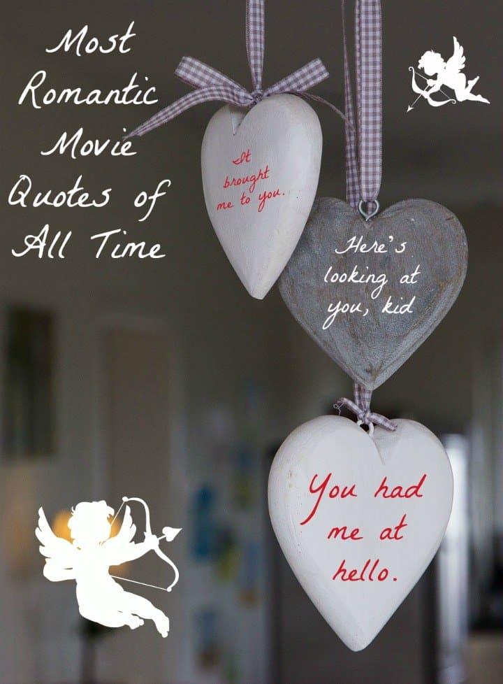 most romantic movie quotes