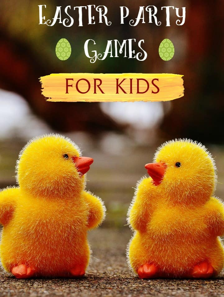 Planning a spring get-together? Don't forget a few Easter party games for kids! Check out our favorites that work indoors or outside!