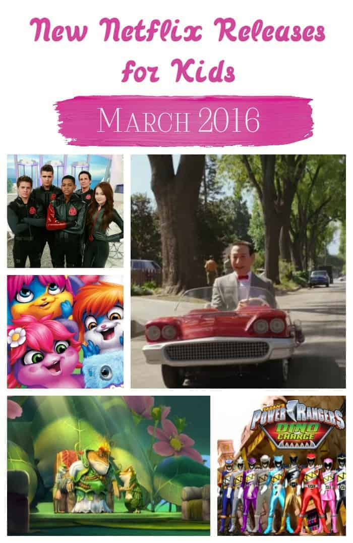 Ready for some brand new releases on Netflix for kids in March 2016? Check out what's hot for tots to tweens and start the streaming!
