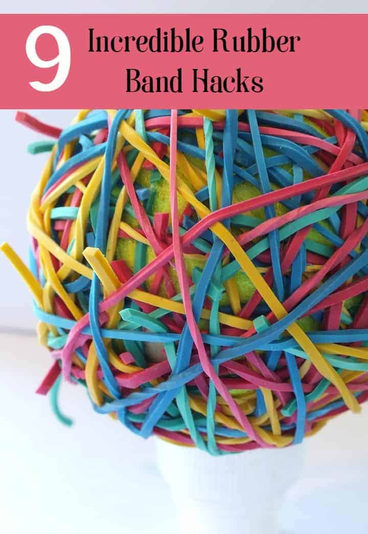 Looking for super cheap organizing hacks? Break out the rubber bands! They're so useful. Check out our favorite rubber band hacks!