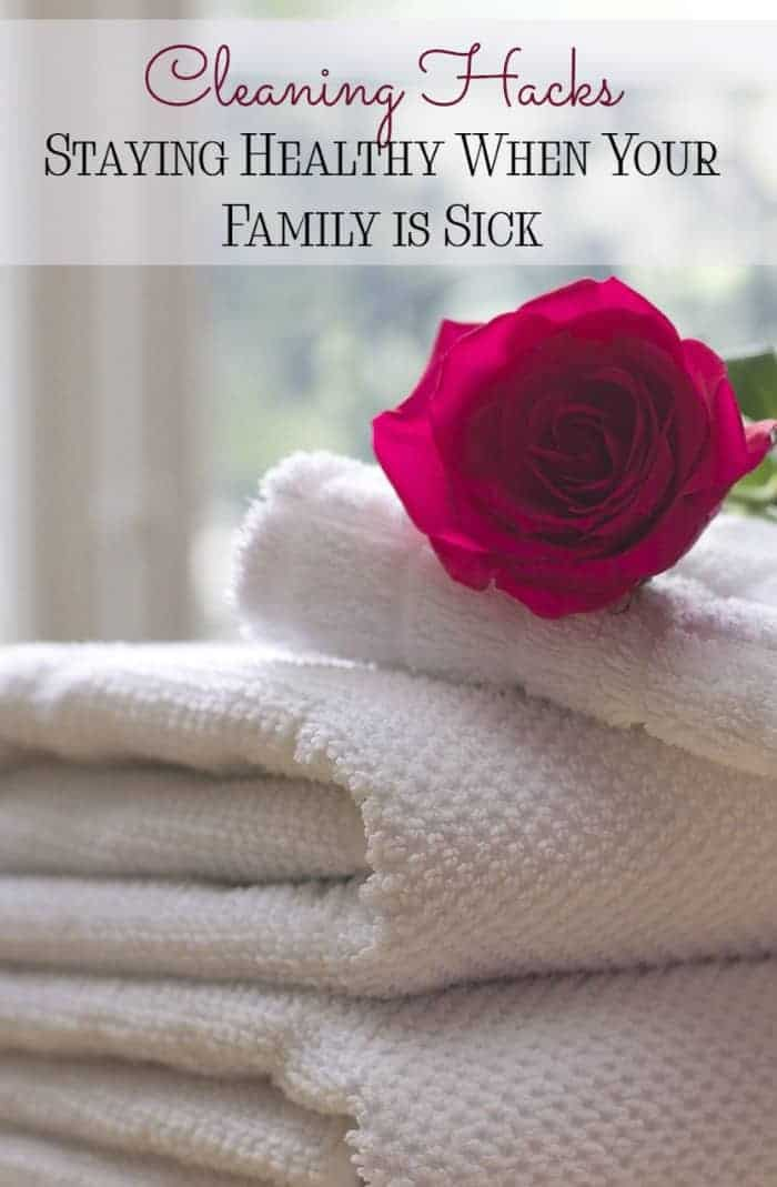 Staying healthy when your family is sick isn't an easy task, but our 5 cleaning hacks will help you stay on top of those bugs! Check them out!