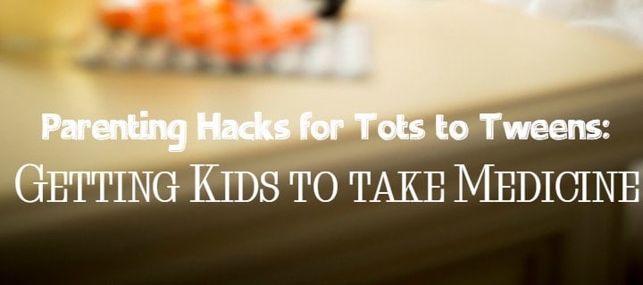 Got a challenging child to medicate? Check out these 7 savvy parenting hacks that make getting kids to take medicine so much easier!