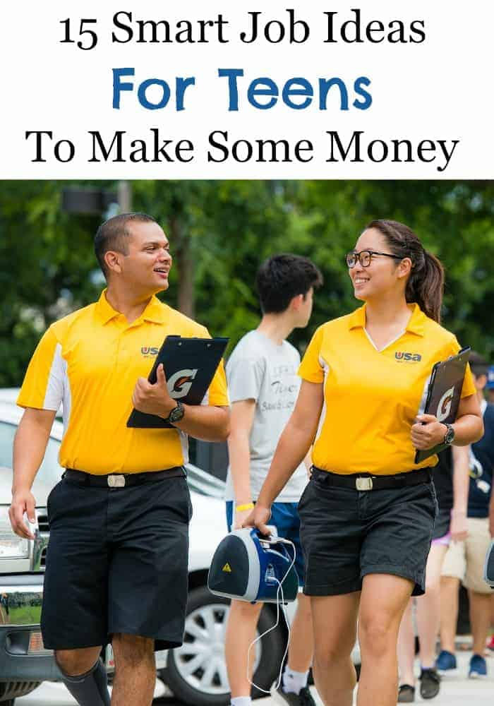 Teens need cash too! Need job ideas for teens? Check out our big list of fifteen ideas to jump start your job search now!