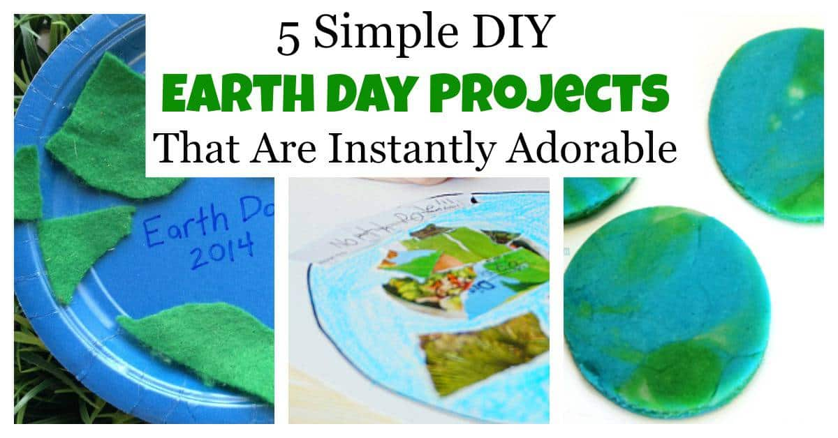 5 Simple DIY Earth Day Projects That Are Instantly ...