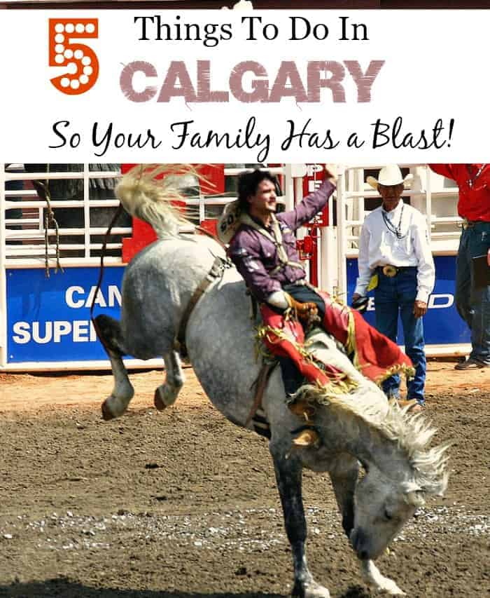 Planning a trip and looking for things to do in Calgary? You've come to the right place! Check out our suggestions to have an amazing family trip.