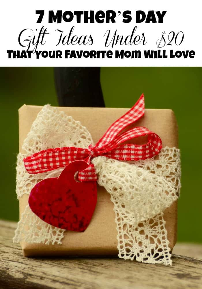 Mother's Day gifts under $20 can be tough to find. Whether it's mom, grandma, or another mom in your life, we have some great gift ideas to surprise them!