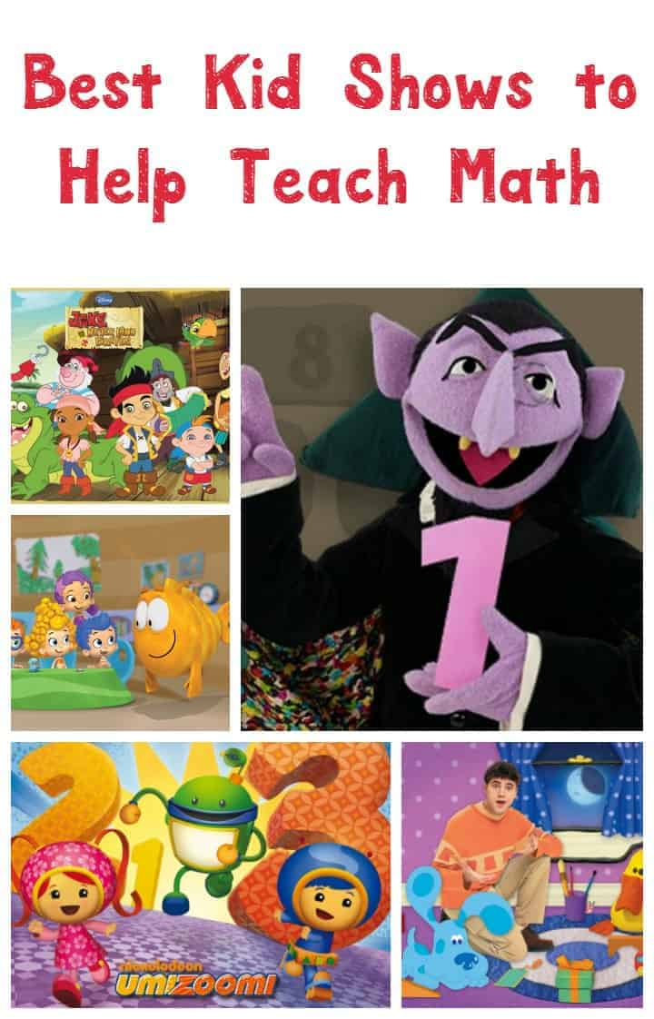 Right here we have the 5 best kid shows to help teach math.  There are math aspects in most every show your child watches, but which are the best ones?