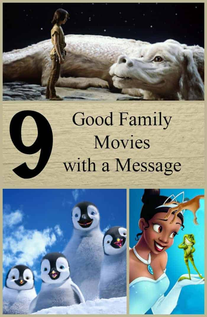 Good family movies with a message can be a powerful teaching tool for when you really want to get something across to your kids. Check out our favorites!