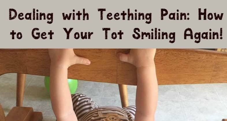 Teething pain can make a normally happy baby utterly miserable. Check out our top 5 tips for soothing those sore gums & getting baby smiling again!