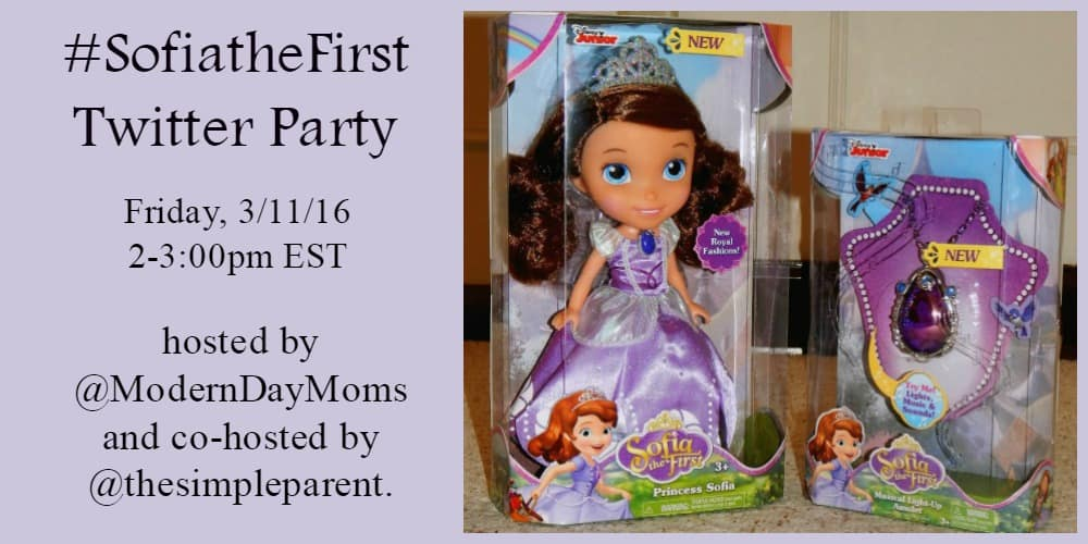 Sofia The First Twitter Party