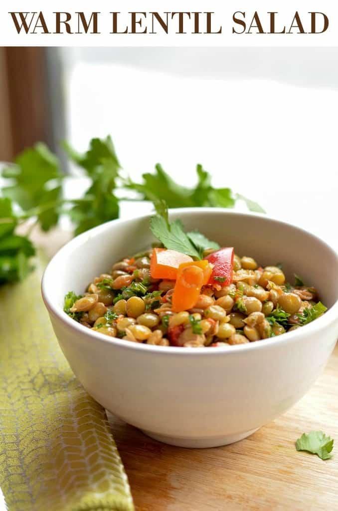 warm-lentil-salad-recipe