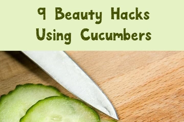 Think cukes are just for salads? Think again! Check out 9 awesome beauty uses for cucumbers, then stock up on this fabulous budget-friendly veggie!