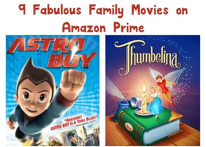 Get the most out of your subscription and spend a little quality time with the kids by streaming these good family movies on Amazon Prime! Check them out!