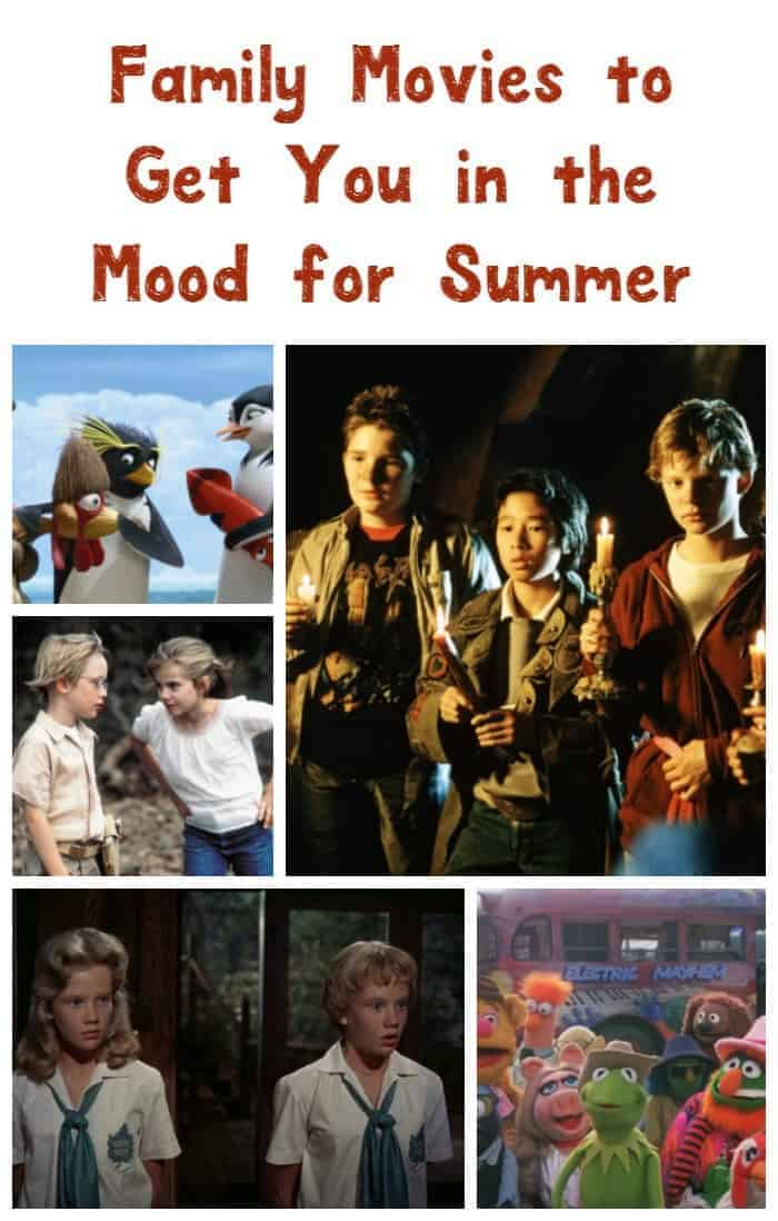 Need a little inspiration to get you ready for warmer days ahead? Check out our favorite family movies about summer that you shouldn't miss!