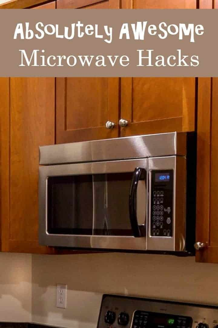 Save time and even money by using your microwave for more than just reheating leftovers. Check out our favorite awesome microwave hacks!