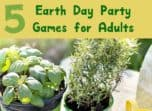 Have a blast cleaning up the planet with these fun Earth Day party games for adults! Conserving the earth is serious business, but it can still be fun!
