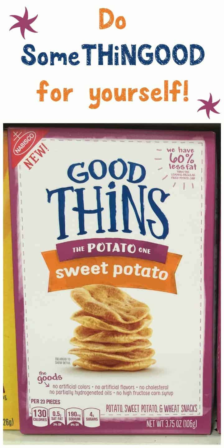 Want to do SomeTHiNGGOOD for yourself? Grab a box of GOOD THiNS Wholesome Snacks! They're perfect for road trips!