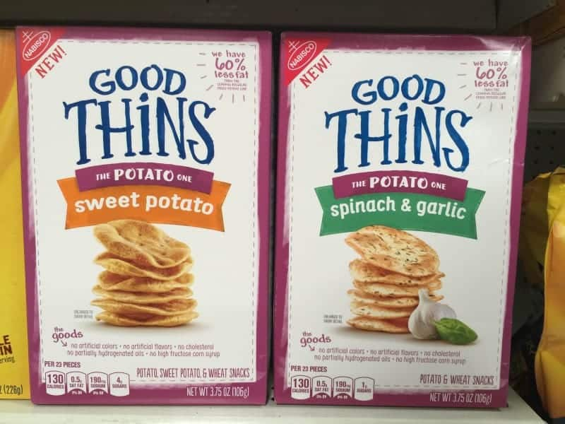Nabisco has an amazingly tasty new snack that will absolutely delight you! Get ready to say hello to GOOD THiNS! Perfect for road trips!