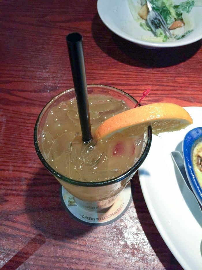 Date Night at Red Lobster: Red Lobster Punch