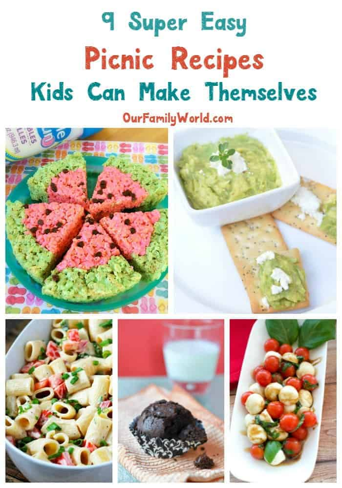 Its Picnic Season And I Love Making Easy Recipes Kids Can Make Too