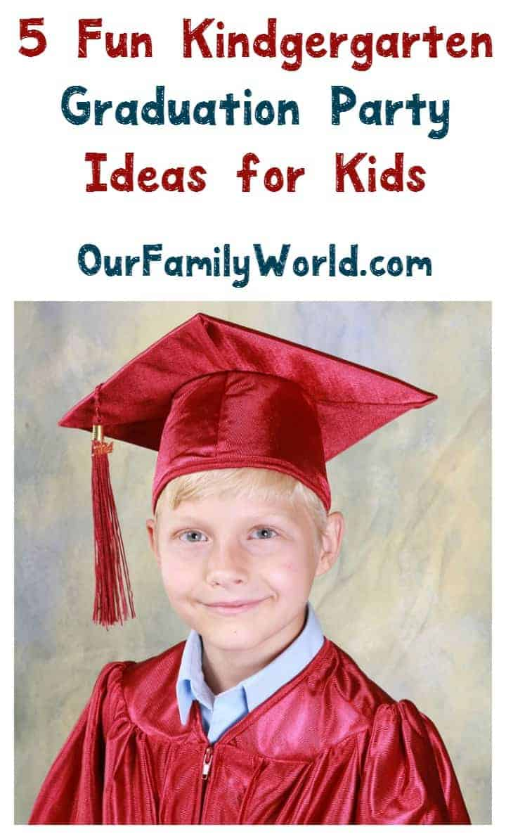 If your child is graduating kindergarten, we have what you need to throw a fun kindergarten graduation party, including fun party games, cool food ideas and more! It is a big step, make it a big occasion!