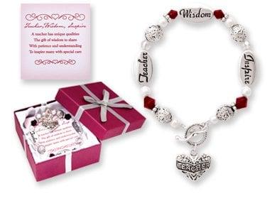 teacher gift idea bracelet