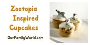 Zootopia Inspired Cupcake Recipe
