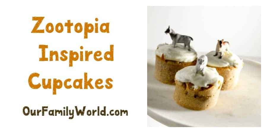 Zootopia Inspired Cupcake Recipe