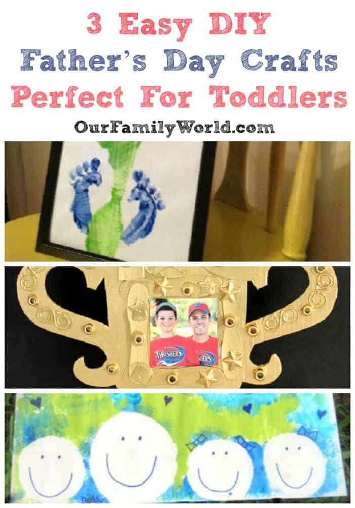 It's time to start getting creative and find fun Father's Day Crafts for toddlers to make. I've made it easy for you by throwing together a couple of my own favorite project ideas. These Father's Day crafts for toddlers all come together pretty easily with big results. Even better, most of these supplies you probably already have, bonus! Let the (somewhat!) messy art making begin, it's going to be fun. The most important part is these gifts is they come right from your child and are sure to melt Dad's heart. Click to see more on the blog!