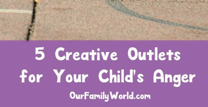 outlets for your child's anger