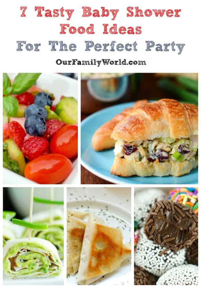 Finding crowd-pleasing baby shower food ideas is not always the simplest task. When I host a baby shower, I like to keep the bites light yet still feeling fancy. I've rounded up some of my favorite recipes that are going to completely wow your party guests, especially the Mom-to-be! Choose one or all of these baby shower food ideas, and the party will be a hit!