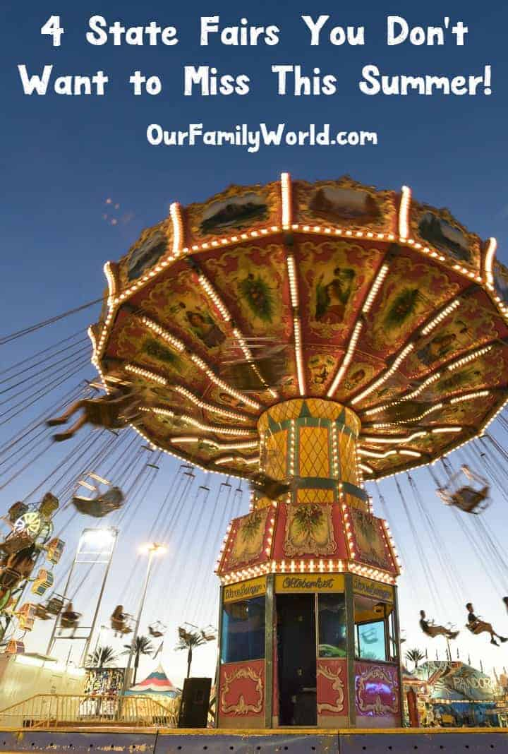 One of the best things to do in summer is to head to a state fair. These fairs began in the 19th century as a way of promoting agriculture. State fairs not only include livestock exhibitions, but also live entertainment, amusement rides, carnival games and food vendors. Here are some of the best state fairs to check out this summer.