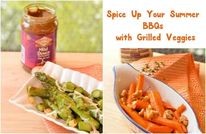 Switch things up this barbecue season by serving up delicious, healthier grilled vegetable appetizers instead of the usual heavy calorie-laden fare! Your guests will still love it and you'll be doing them a favor. Don't worry, you'll have plenty of flavor, thanks to Pataks and Blue Dragon sauces to spice things up!