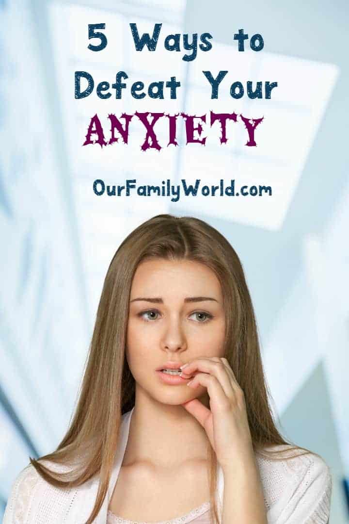 I have found these 5 helpful tips to help your anxiety work for me.  When anxiety starts to creep up on you, it can be hard to ground yourself if you don't know what to do.  It is not something anyone else can see from the outside.  I hope these tips help you as much as they help me!