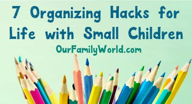 If you have small children, you know the keeping everything organized can sometimes be a huge challenge right? So, what do you do? You head to the store and spend hundreds of dollars on storage solutions, right? Wrong! Here are some great organizing hacks for small children to keep things organized and save you some cash as well.
