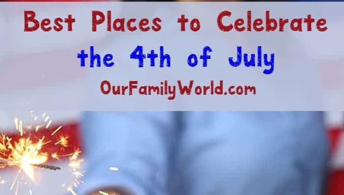 Want to see the most amazing fireworks show in the country? Check out the best places to celebrate the 4th of July!