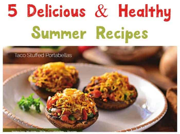 Need a change from the usual BBQ fare? Get ready to whip up some delicious easy healthy summer recipes that will thrill your whole family! These 5 recipes will take your BBQ season to a whole new level...without taking your cholesterol and waist band to new levels as well. The recipes are perfect as is for a family of 4, or just double everything to turn them into recipes for large families (or if you want to have some leftovers!).