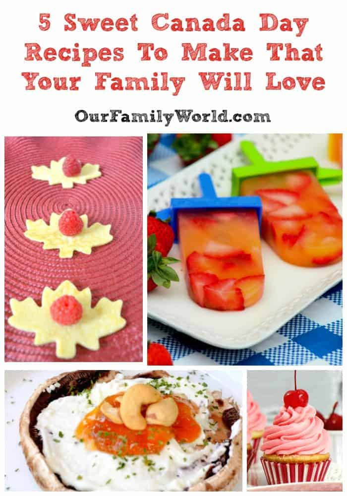 Check out some of my favorite Canada Day recipes below to delight your inner Canadian. One recipe even includes optional maple syrup!