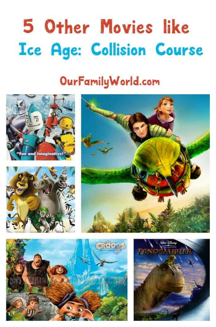 Looking for more great movies to watch like Ice Age: Collision Course? Check out 5 more fab family films for your next movie night!
