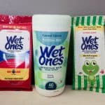 Say Goodbye to All Those Sticky Situations with Wet Ones® Hand Wipes!