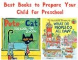 Looking for the best books to read to prepare your child for preschool? We've got you covered with a few of my favorites! Check them out!