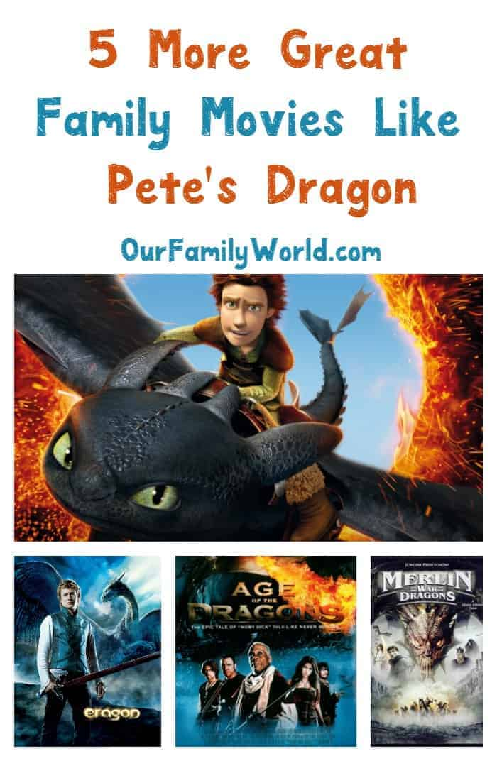 Looking for other great family movies to watch like Pete's Dragon? You're in the right place! Check out five of our favorites!