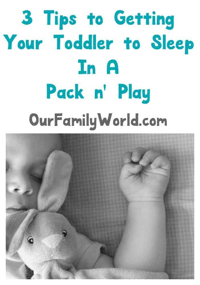 Looking for travel hacks and tips for vacations with toddlers? Check out our parenting tips for getting your tot to sleep in a pack and play!