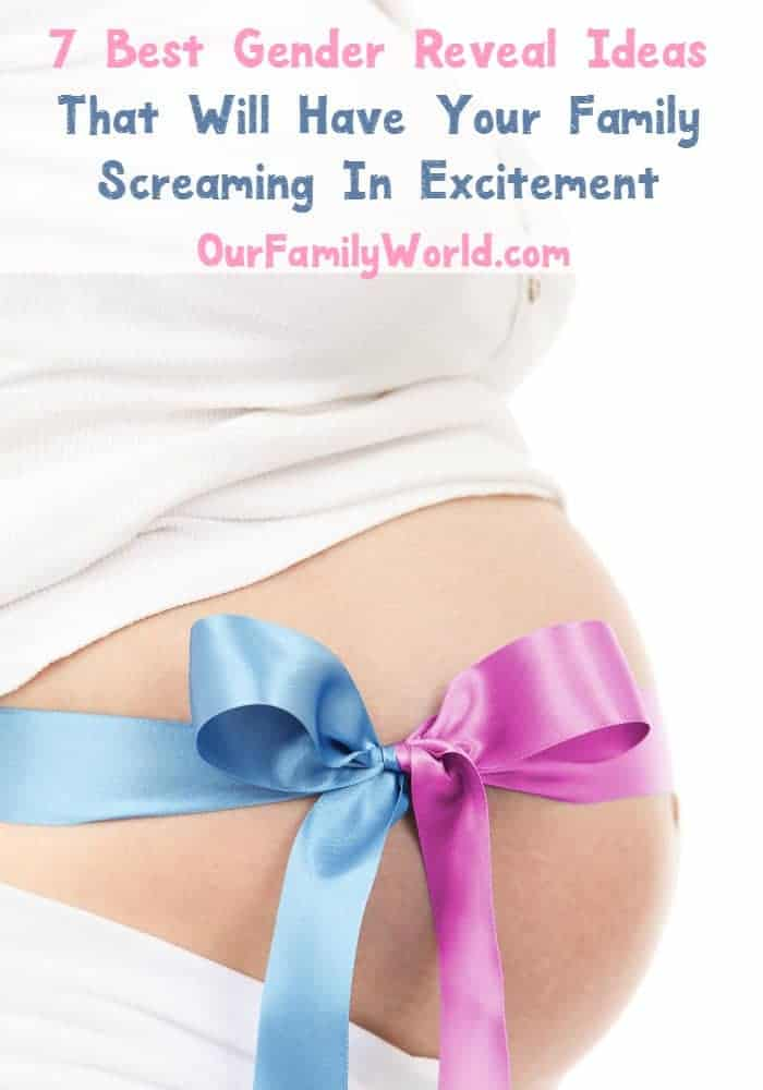Need gender reveal ideas that will get the whole family excited? Check out this list that will have everyone cheering for pink or blue!