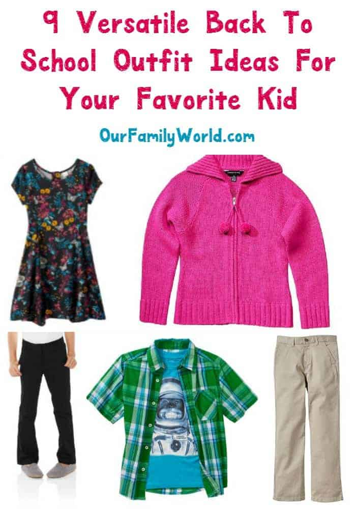 Start your back to school outfit shopping on the right foot! I've pulled together some of my favorite pieces that are perfect for your kid's school outfits.