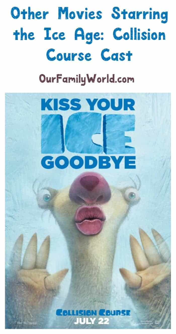 Looking for other movies to watch starring the Ice Age: Collision Course cast? The talented voice cast has appeared in dozens of movies. Check out a few!